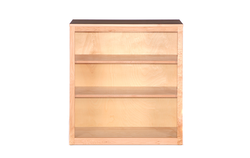 Shaker Top 48 Quot Wide Bookcases Riley S Real Wood Furniture