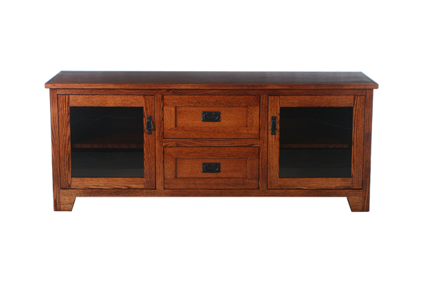 Shaker 63 Quot Low Tv Console Riley S Real Wood Furniture