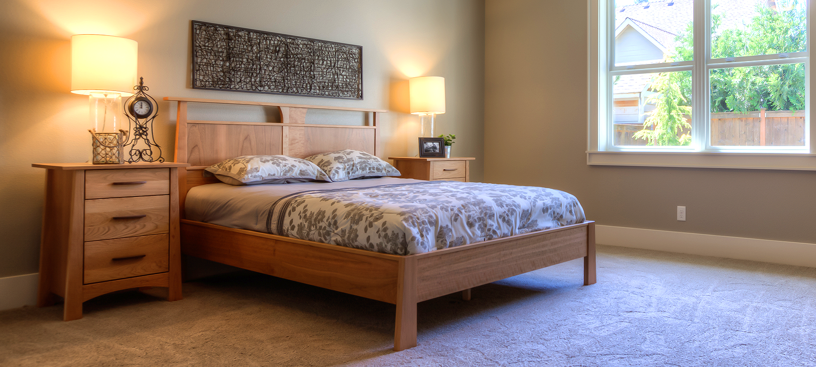 Shop our famous selection of real wood bedroom