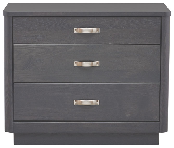 Nordby 3 Drw Chest in Slate