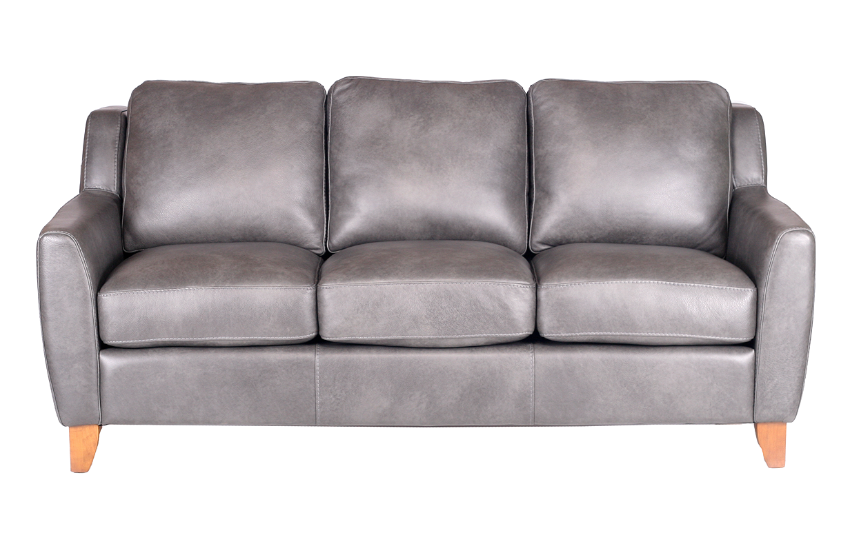 pavia leather push back recliner