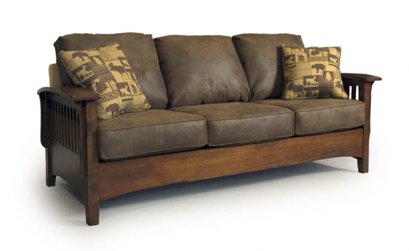 Westney Mission Sofa Rileys Real Wood Furniture