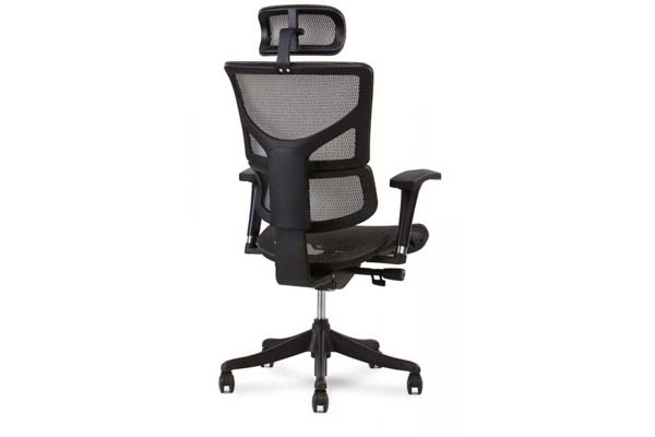 X1 Task Chair with headrest in Grey