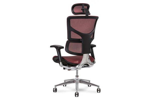 X2 Executive Task Chair in Red K-Sport Mesh