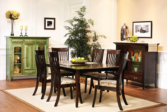 QUALITY DINING ROOM SETS