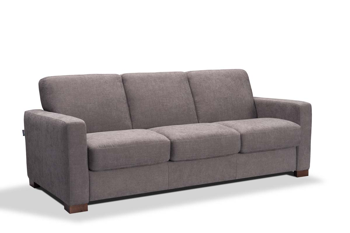 Greco 3 Seat Sofa Bed in Aquaclean Cover - Riley\'s Real Wood ...