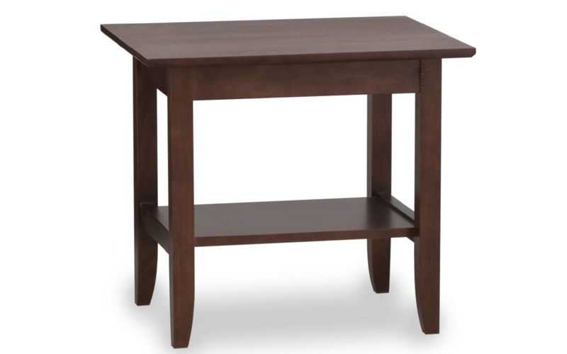 Riviera End Table Riley s Real Wood Furniture