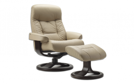 Muldal Recliner and Ottoman