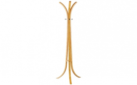 Contour Coat Rack in Natural