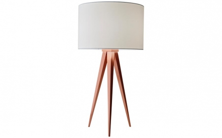 Director Table Lamp in Copper