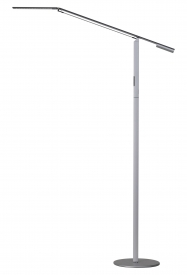 Equo LED Floor Lamp, Silver