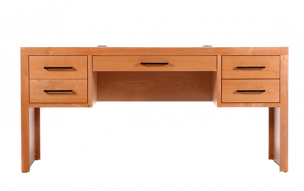 Modern 4 Drw Executive Desk