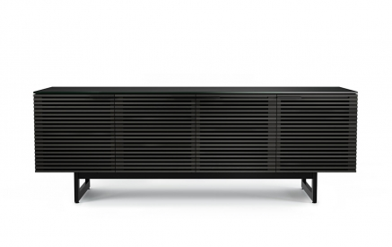 Corridor 8179 Charcoal Stained Ash 4 Dr Media Console