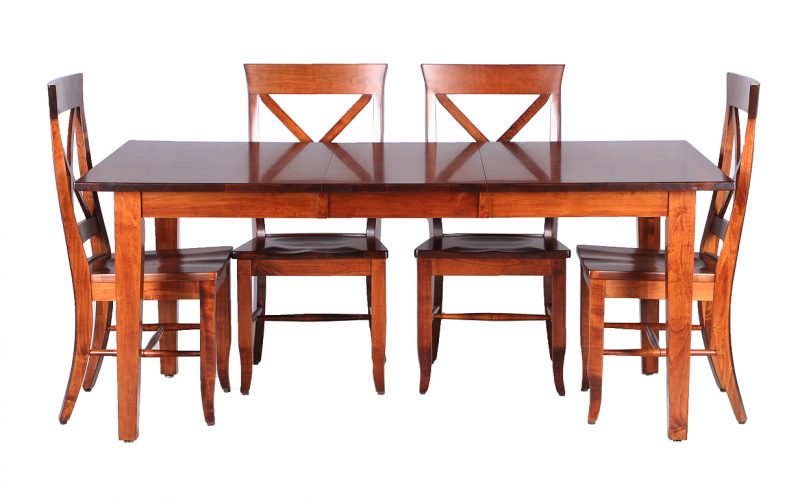 Casual Maple Dining Table Riley S Real Wood Furniture