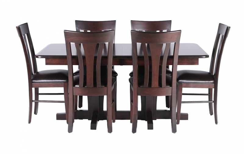 Newport Trestle Table Riley S Real Wood Furniture