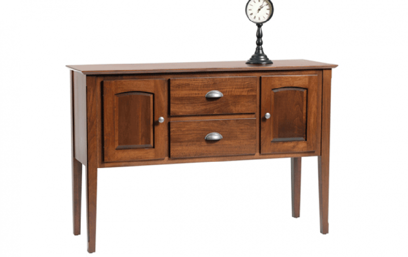 Casual dining sideboard riley 39 s real wood furniture for Sideboard real