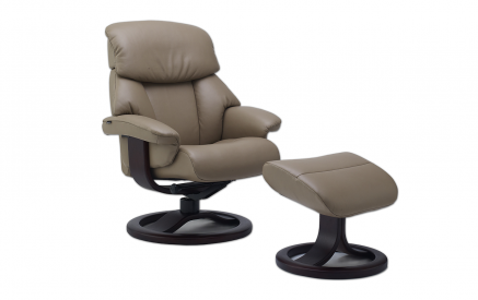 Alfa 520 Recliner and ottoman