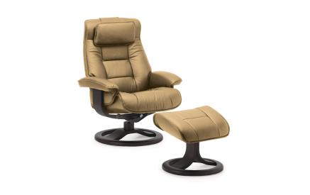 Mustang Recliner and Ottoman