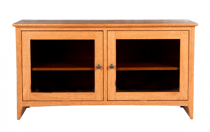 Shaker 48 Quot Tv Console Riley S Real Wood Furniture