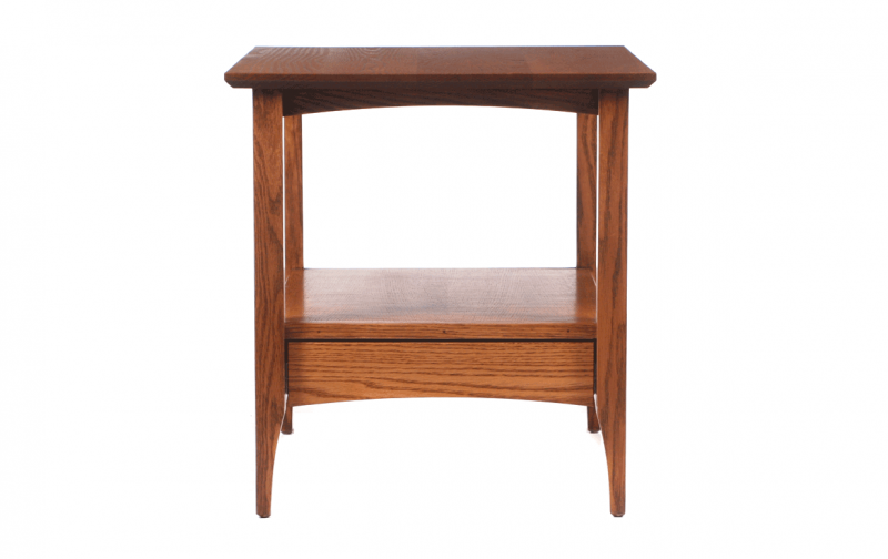 Oregon Shaker End Table Riley S Real Wood Furniture