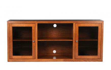 Media Storage And Tv Console Riley 39 S Real Wood Furniture