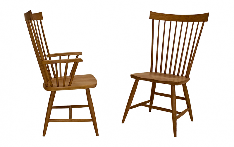 Vermont Country Chair Riley S Real Wood Furniture