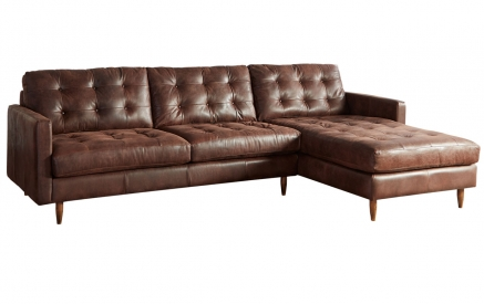 Essex 2 Piece Chaise Sectional, RHF