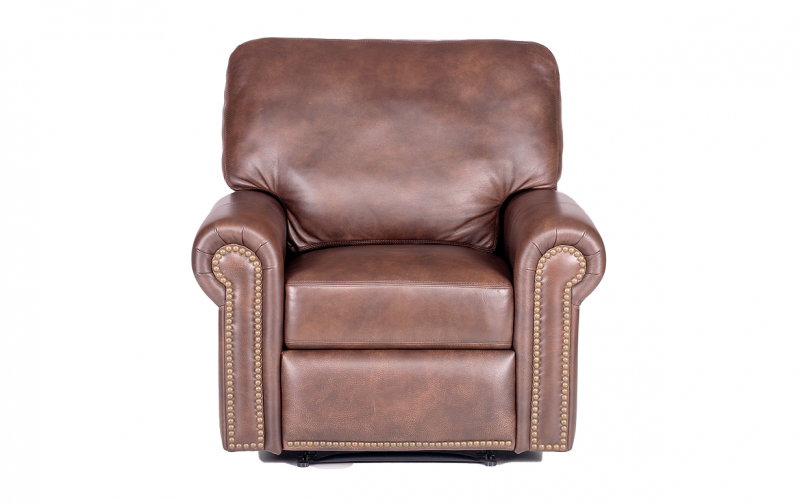 Fairfield Leather Recliner Riley S Real Wood Furniture