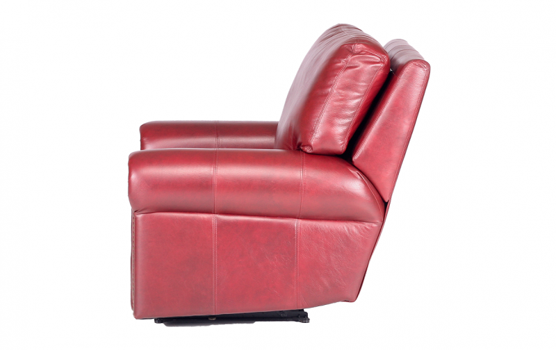 Lovely Fairfield Leather Recliner. PrevNext