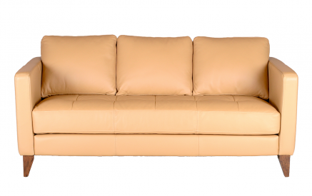 Hartford Leather Sofa in Empire Butternut