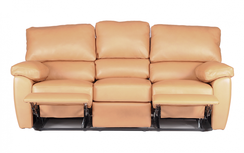 Marvelous Vercelli Leather Reclining Sofa. PrevNext