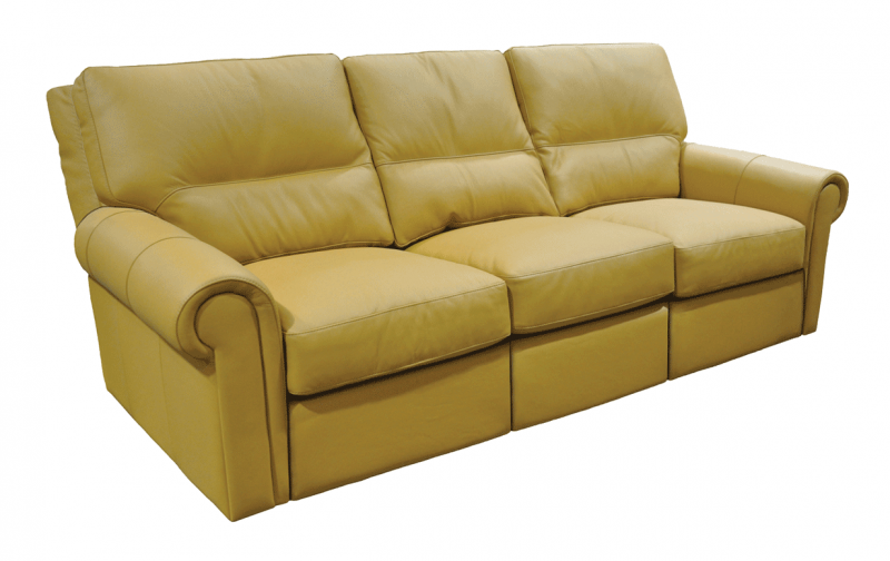 Riley Leather Reclining Sofa Rileys Real Wood Furniture