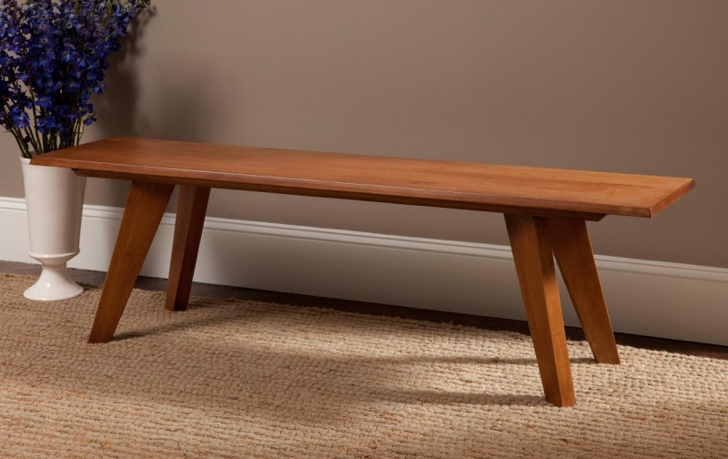 Taper Leg Bench Riley S Real Wood Furniture
