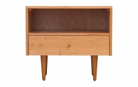 Asher 1 Drawer Night Stand, Cherry
