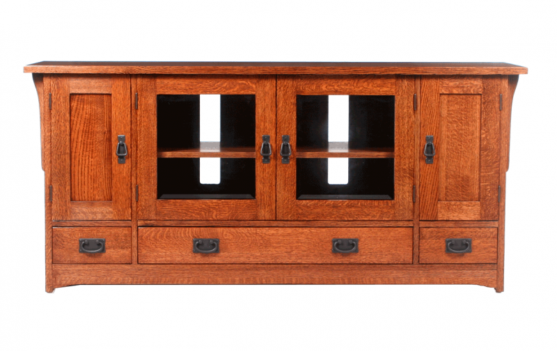 Mission Large Tv Media Console Riley 39 S Real Wood Furniture
