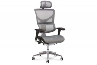 X2 Executive Task Chair in White K-Sport Mesh